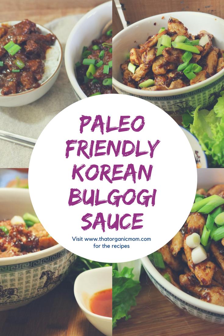 Korean Bulgogi Sauce - a Paleo friendly Recipe
