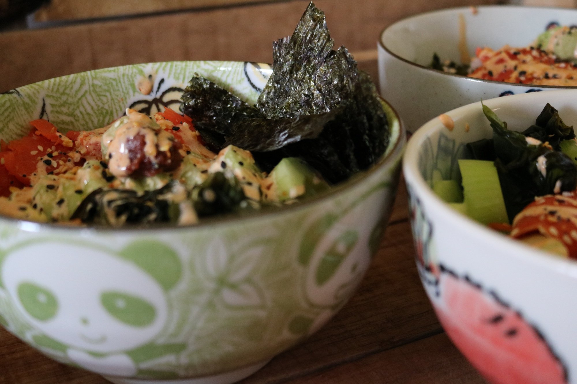 Sushi Bowls for the entire family 10