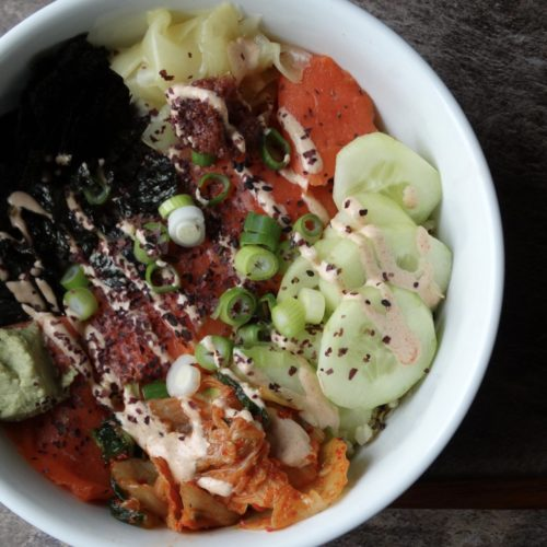 Sushi Bowls for the entire family 1