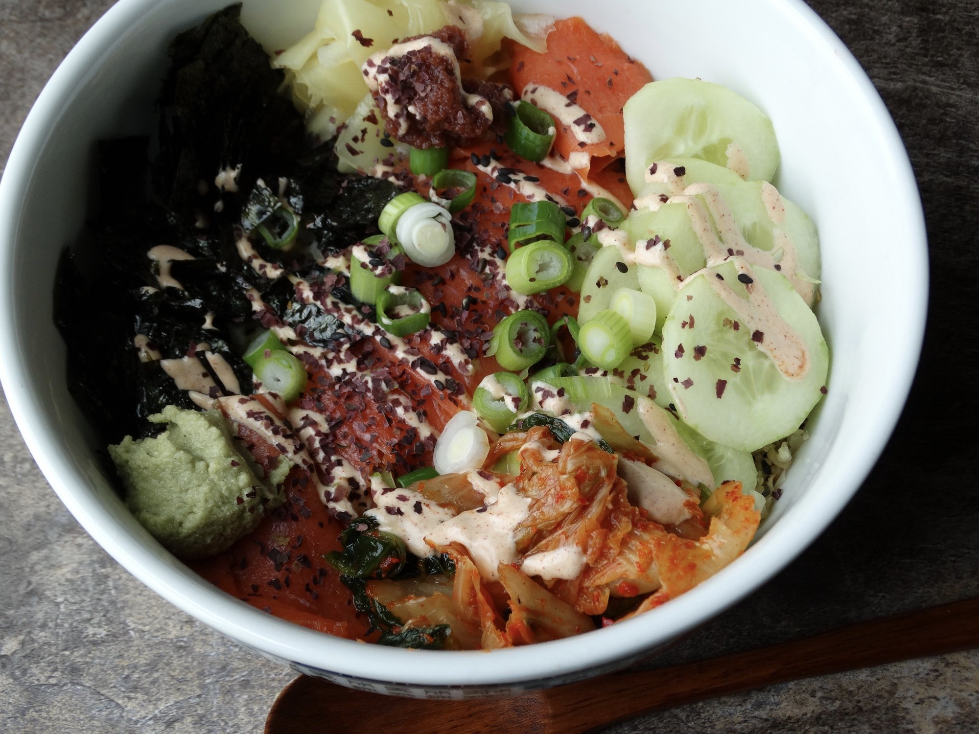Sushi Bowls for the entire family 2