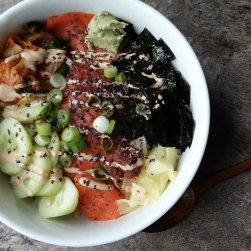 Sushi Bowls for the entire family 3