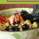 Sushi Bowls for the entire family with low carb option! 1
