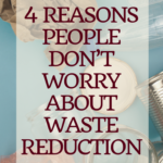 4 Reasons People Don't Worry about Waste Reduction 2