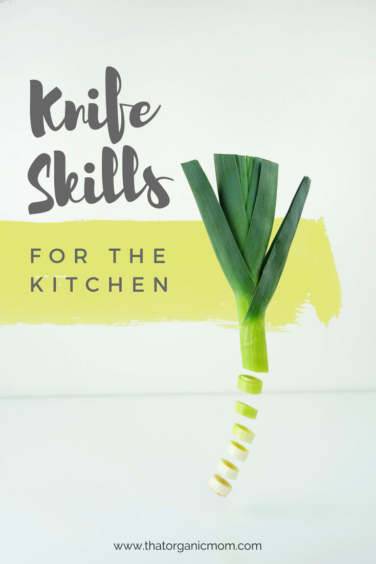 Handy Knife Skills for the kitchen 4