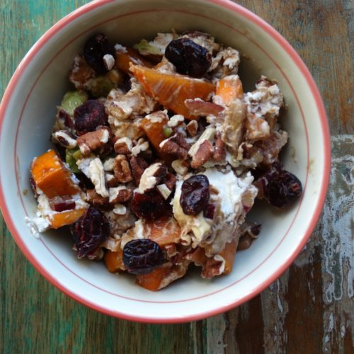 Persimmon Harvest Salad 1