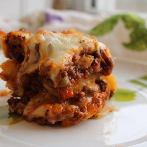 Golden Lasagna: A Twist on Pastelón (Sweet Plantain Lasagna) 1