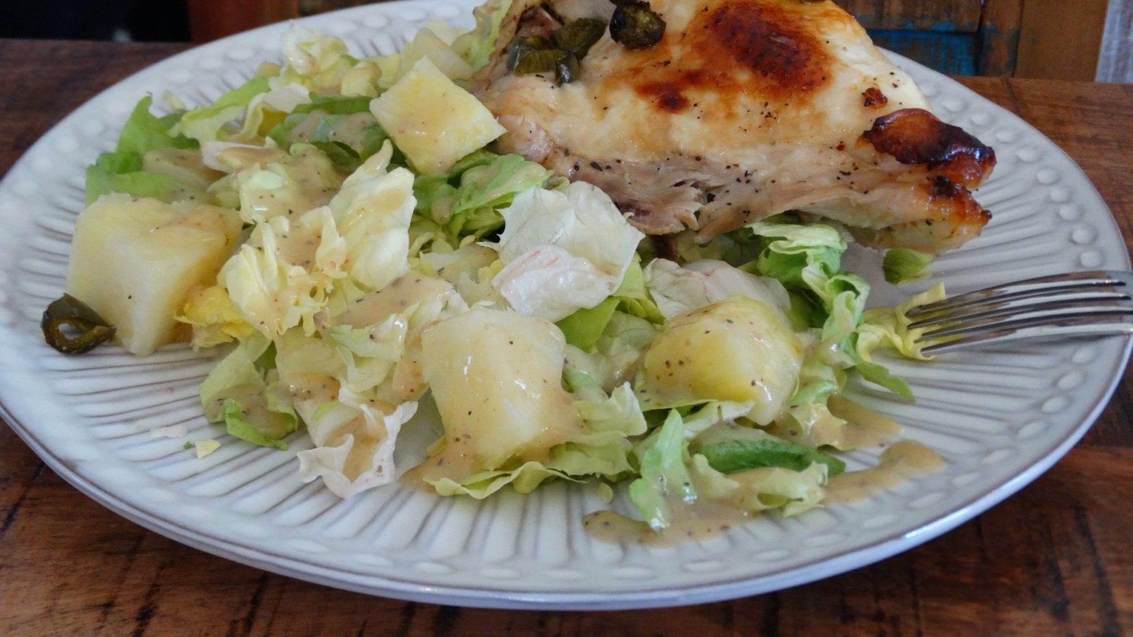 Caribbean Chicken Recipe - Use A Meat thermometer! 1