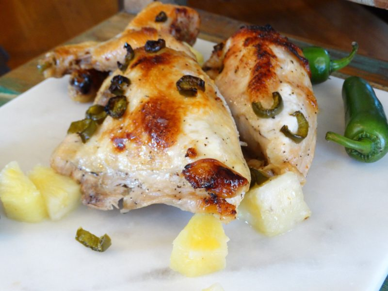 Caribbean Chicken Recipe - Use A Meat thermometer! 5