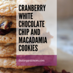 Cranberry, White Chocolate Chip and Macadamia Cookie Recipe 11
