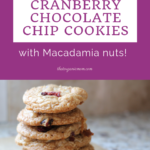 Cranberry, White Chocolate Chip and Macadamia Cookie Recipe 12
