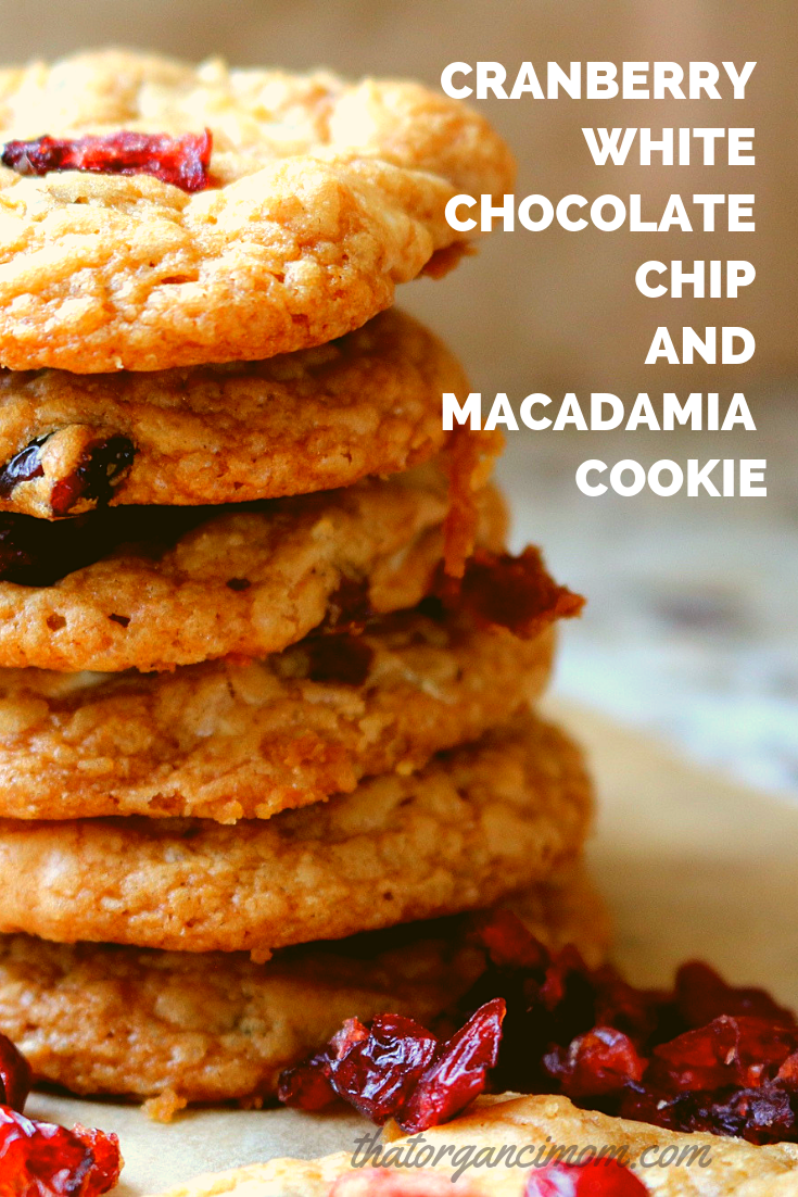 Cranberry, White Chocolate Chip and Macadamia Cookie Recipe 8