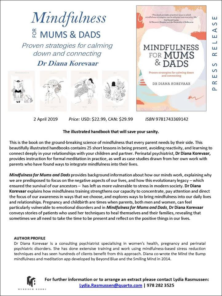 Mindfulness for parents: proven strategies for calming down and connecting with our kids - a book review 7