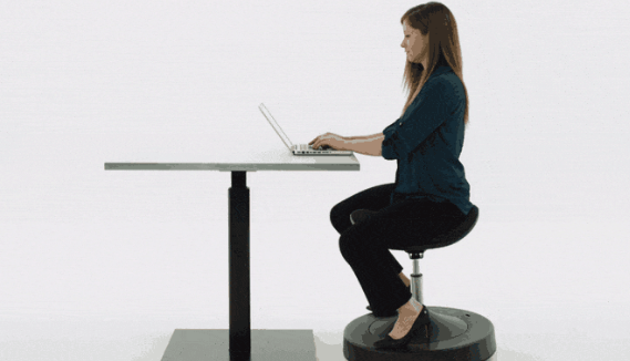 The Latest Craze in Workplace Wellness: Balanced Active Sitting
