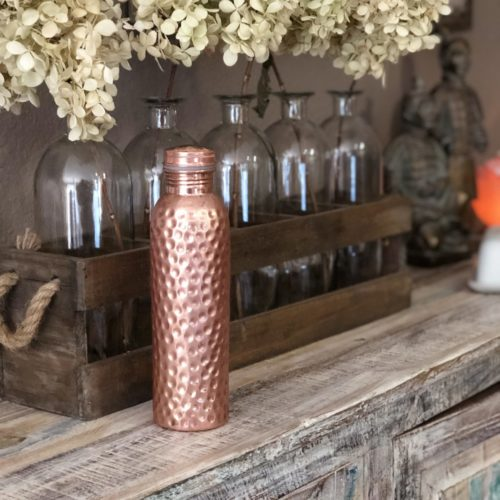 Copper H2O Water Bottle - perhaps the last water bottle you will ever own!
