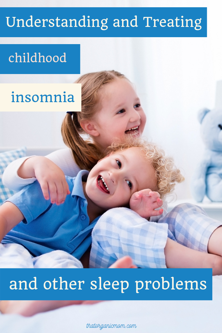 Understanding and treating childhood insomnia and other sleep problems 3