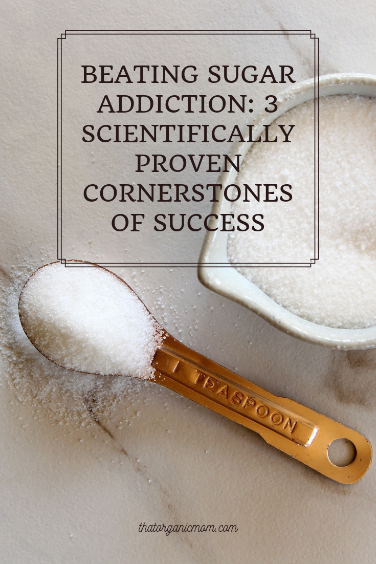 Beating Sugar Addiction: 3 Scientifically Proven Cornerstones of Success