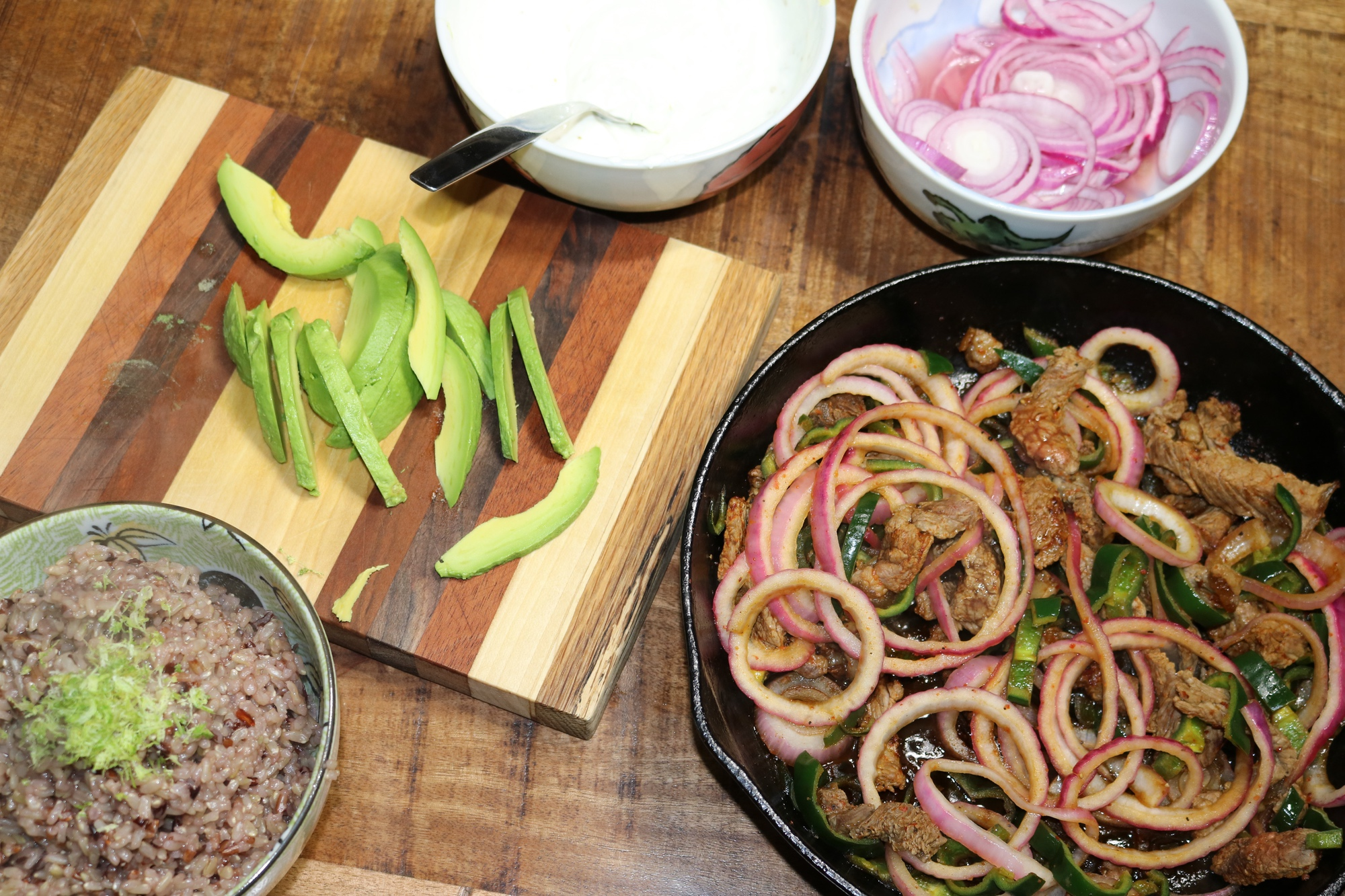 Chile Lime Steak Fajitas 3