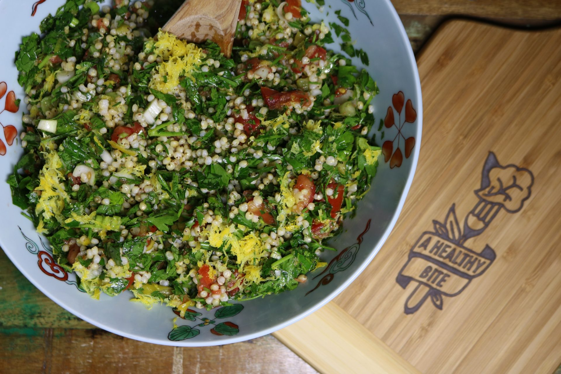 Tantalizing Tabbouleh with a Lemony Twist 3
