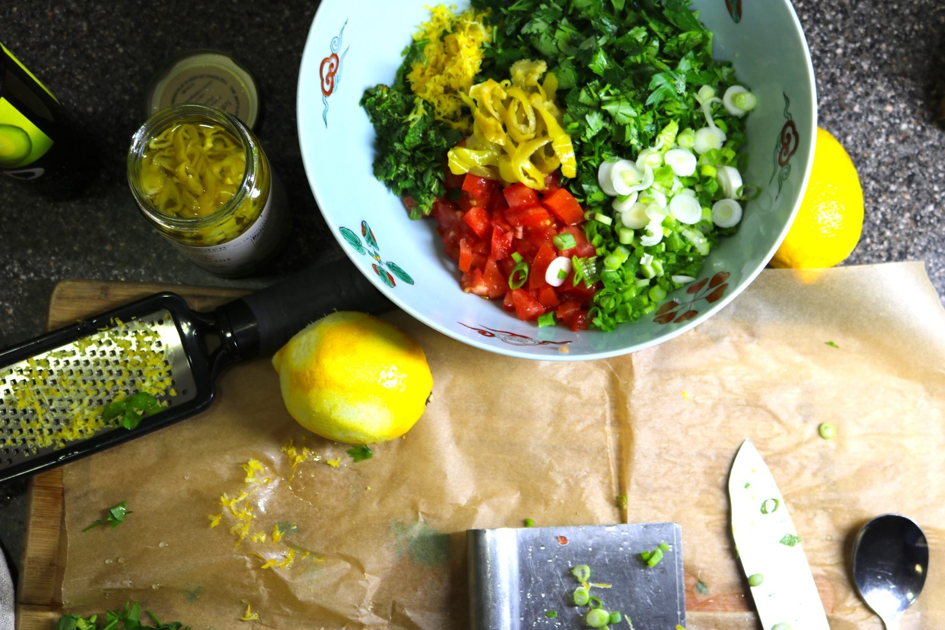 Tantalizing Tabbouleh with a Lemony Twist 4