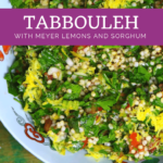 Tantalizing Tabbouleh with a Lemony Twist - low carb option