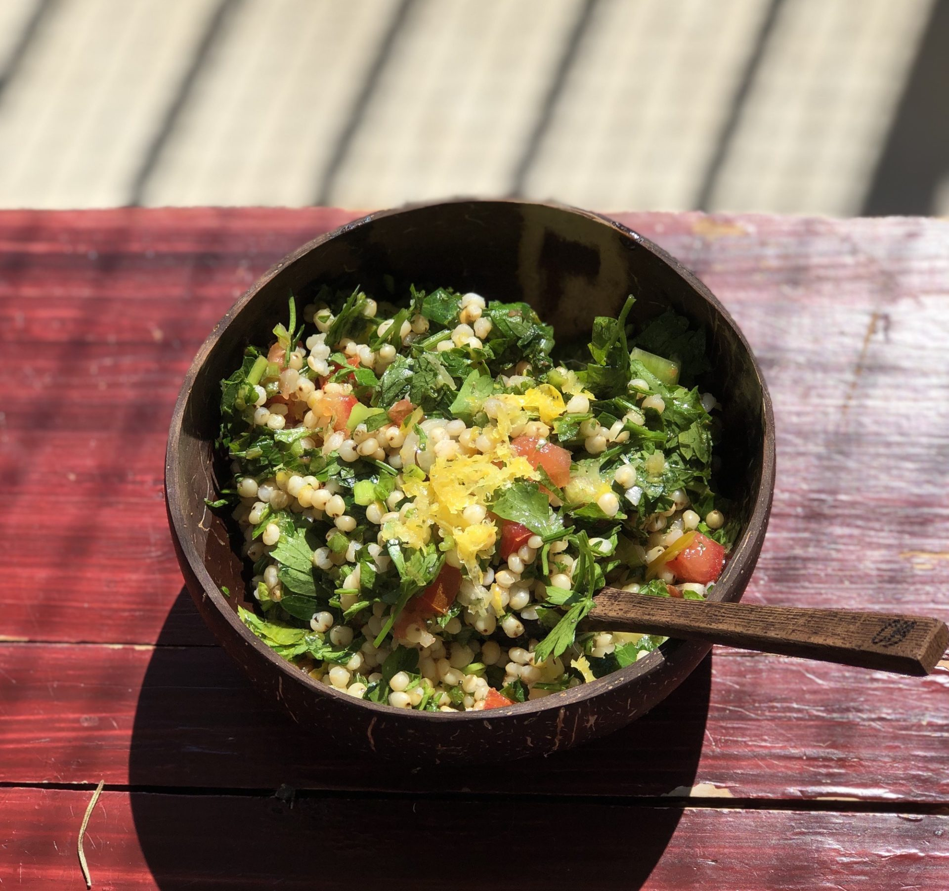 Tantalizing Tabbouleh with a Lemony Twist