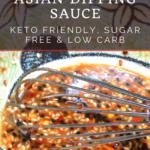 "Asian ""Peanut"" Sauce Recipe - Low Carb, Ketogenic Friendly 13"