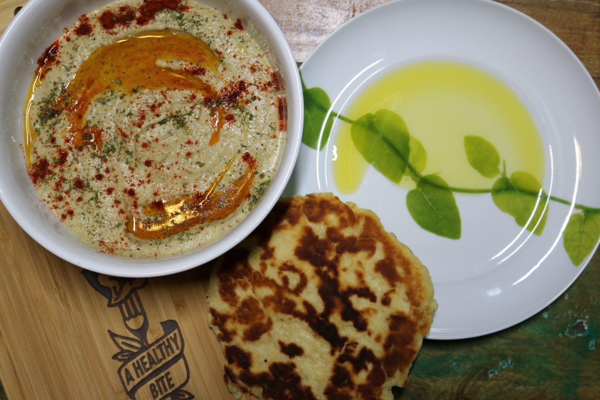 Baba Ghanoush with Organic Meyer Lemon Olive Oil 2