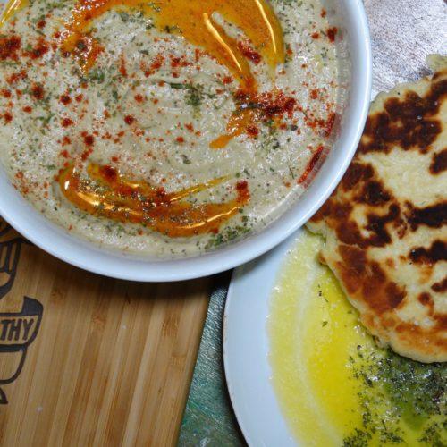 Baba Ghanoush with Organic Meyer Lemon Olive Oil 3