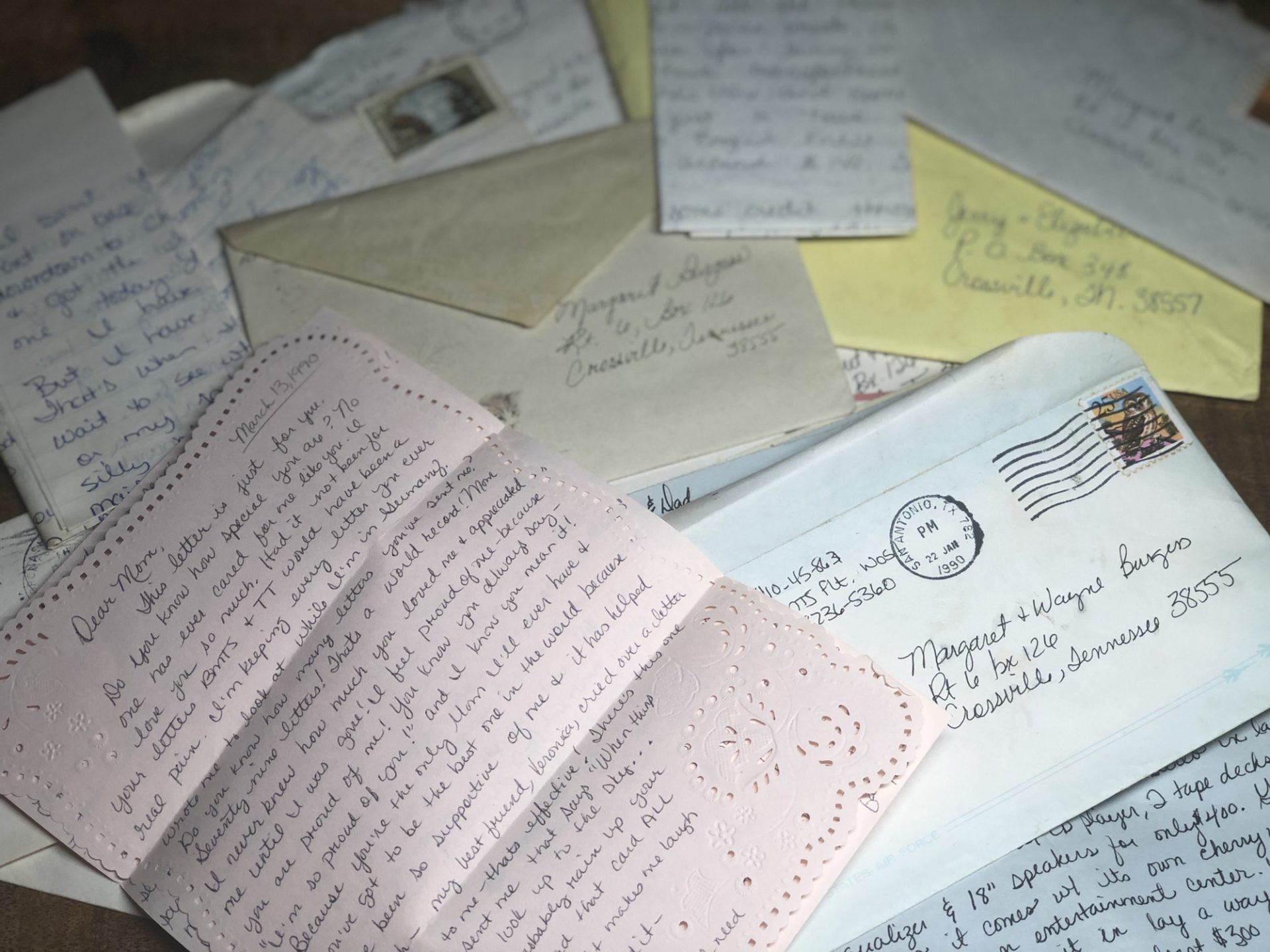 History and The Lost Art of Letter Writing 2