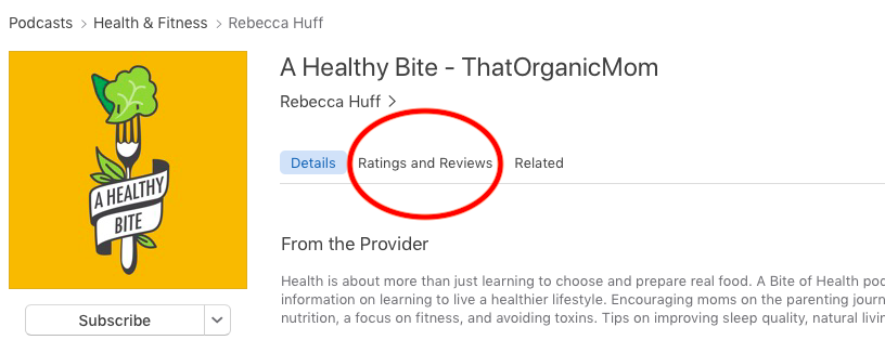 How to Leave a Review on iTunes 2