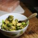 Roasted Brussels Sprouts with Maple Lime Vinaigrette and Toasted Pecans 2