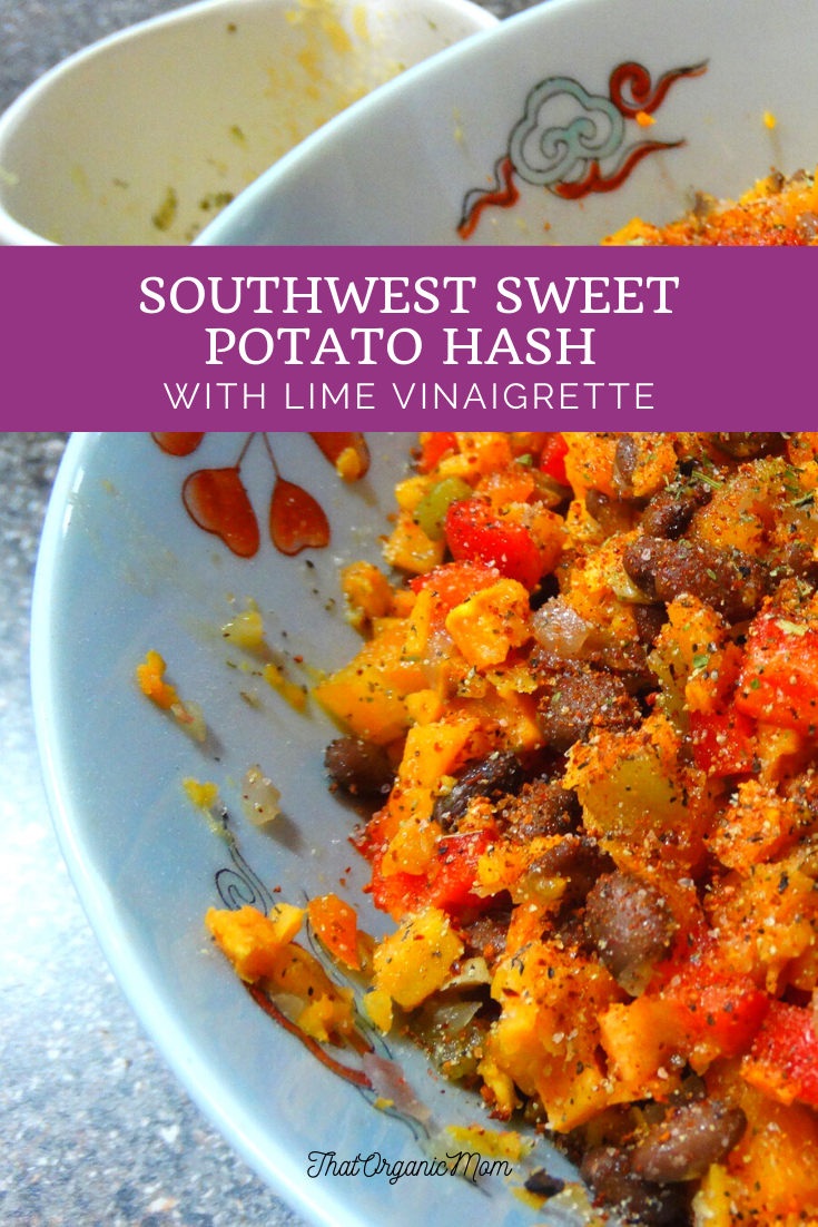 Southwest Sweet Potato Hash with Lime Vinaigrette 3