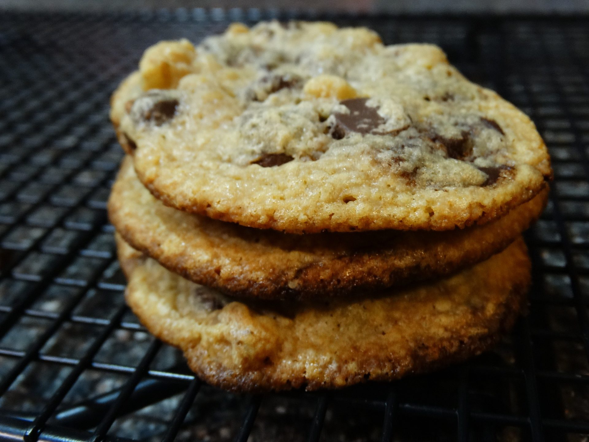 Delicious bakeable keto and thm friendly sugar free , gluten free chocolate chip cookie mix.