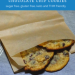 The Easiest Low Carb Chocolate Chip Cookies You'll Ever Taste - Keto & THM Friendly 9