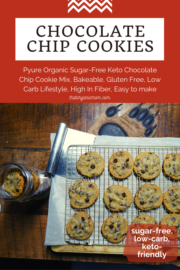 The Easiest Low Carb Chocolate Chip Cookies You'll Ever Taste - Keto & THM Friendly 7