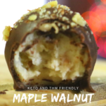 Sugar-Free Maple Walnut Truffles 13