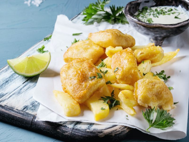 Fried Cod Made with Wild-Caught Fish from a Sitka Salmon Share 2