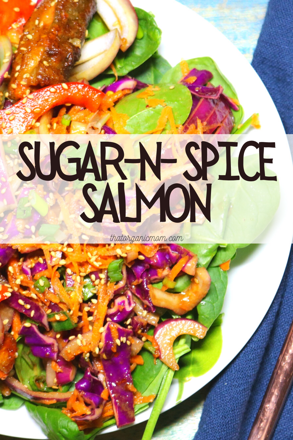 Sugar and Spice Salmon - Low Carb and THM Friendly Recipe 1