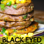 Black-Eyed Pea Fritters with Corn Salsa 4