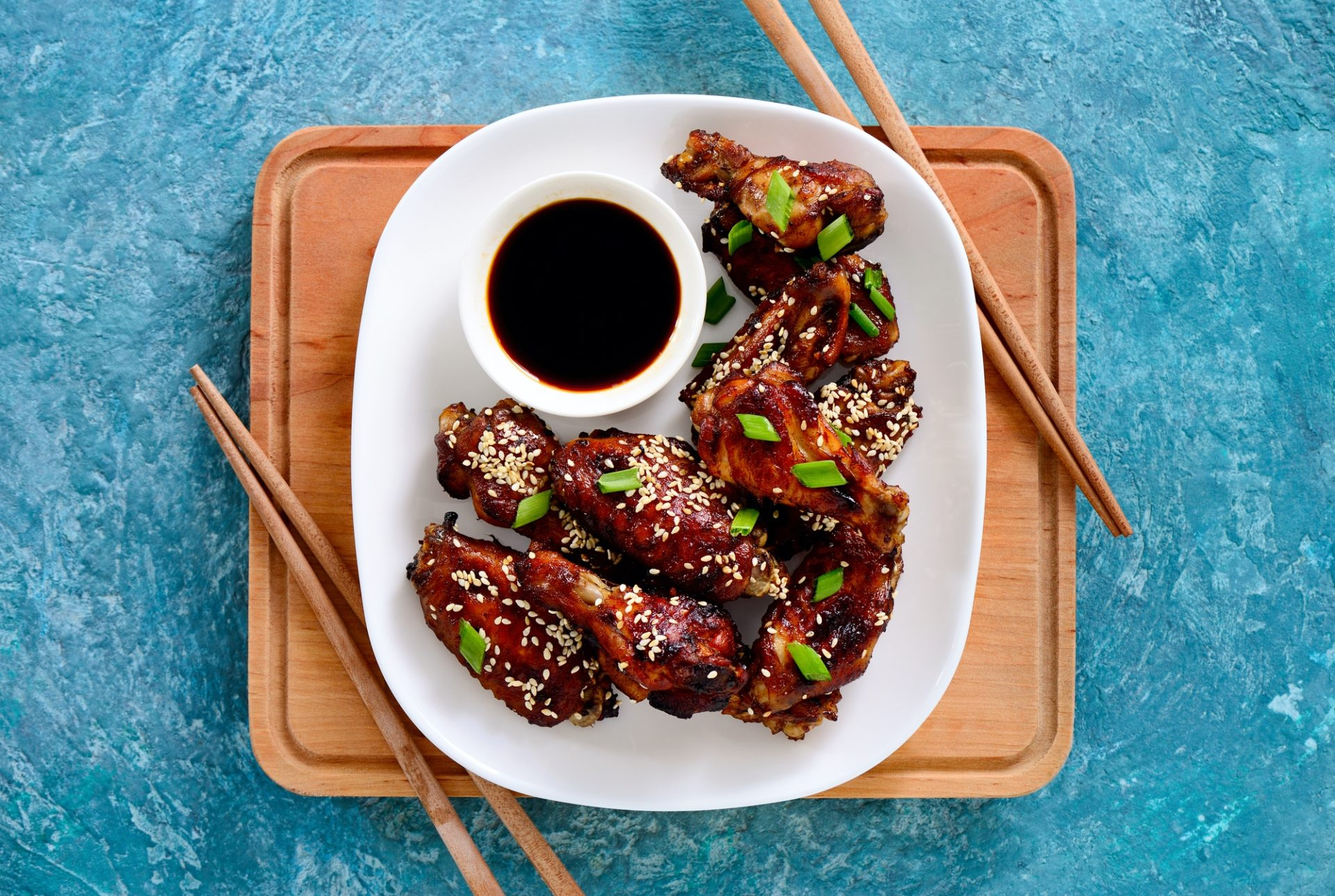 Crowd Pleasing Tasty Chicken Wings Trio