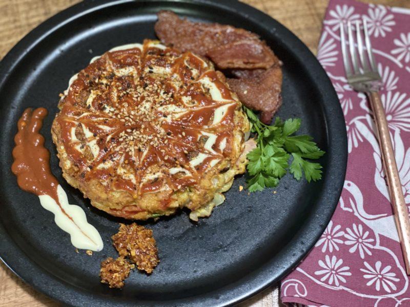 Okonomiyaki - Japanese Pancakes with gluten free option 3