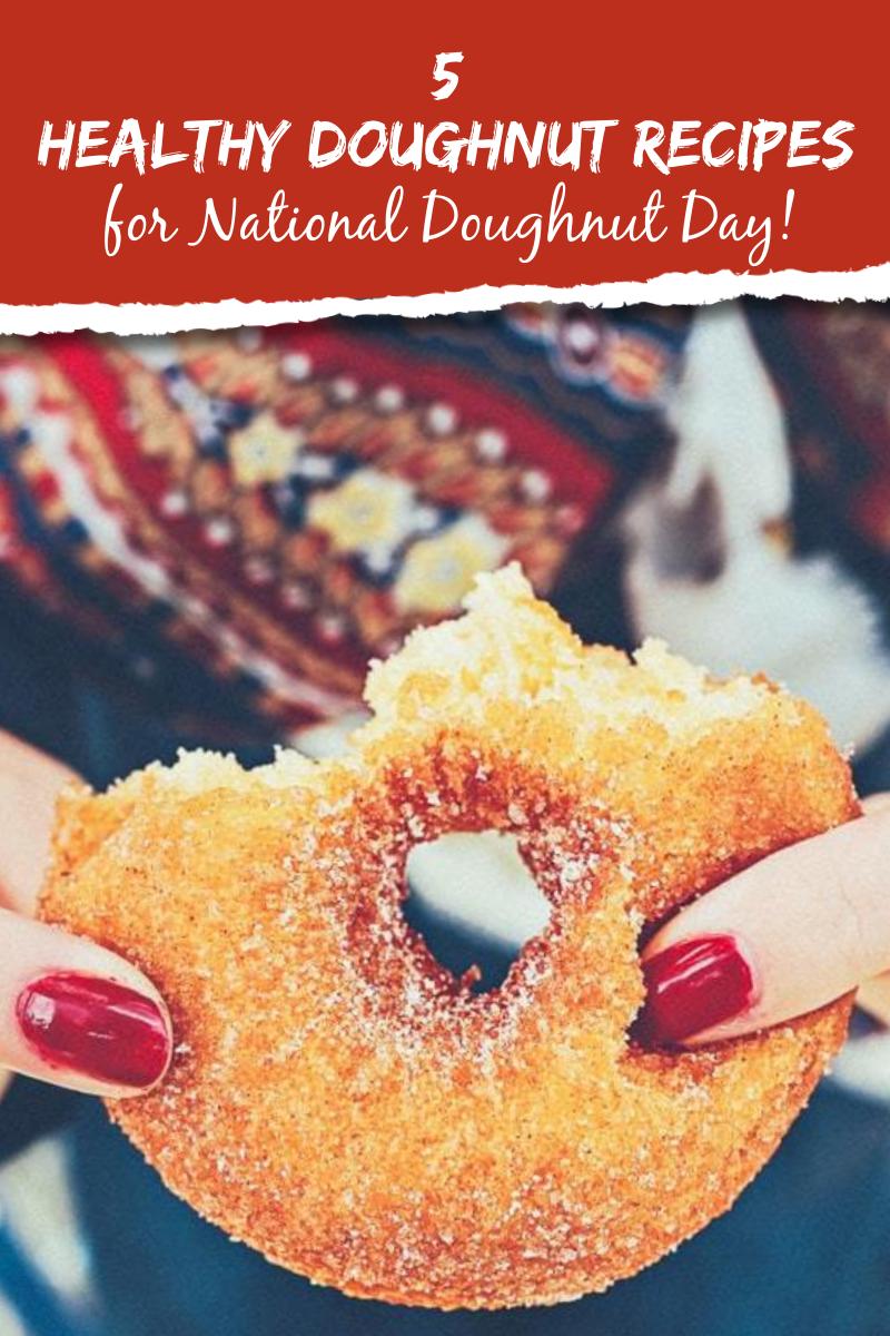 Healthy Doughnut Recipes for National Doughnut Day 4