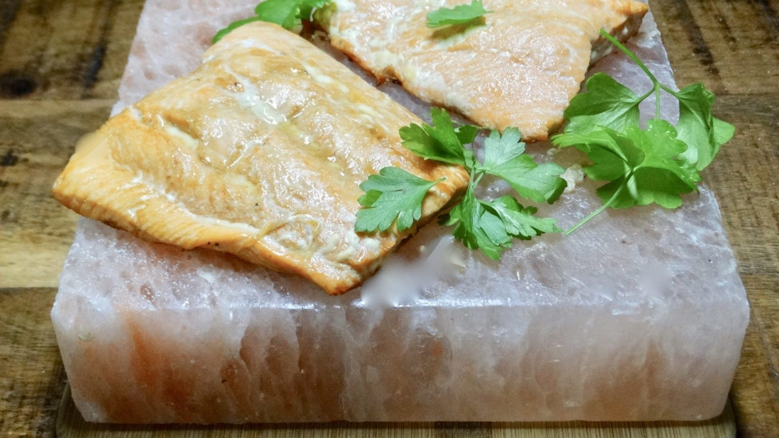 Himalayan Salt Block Salmon Recipe - Low Carb, Keto, THM Friendly 4