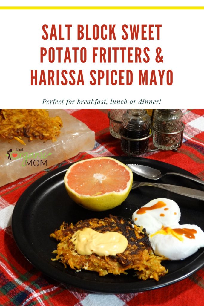 Salt Block Sweet Potato Fritters with Harissa Spiced Mayo 3