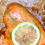 Using a Himalayan Salt Block to Cook Salmon (with recipe) 3