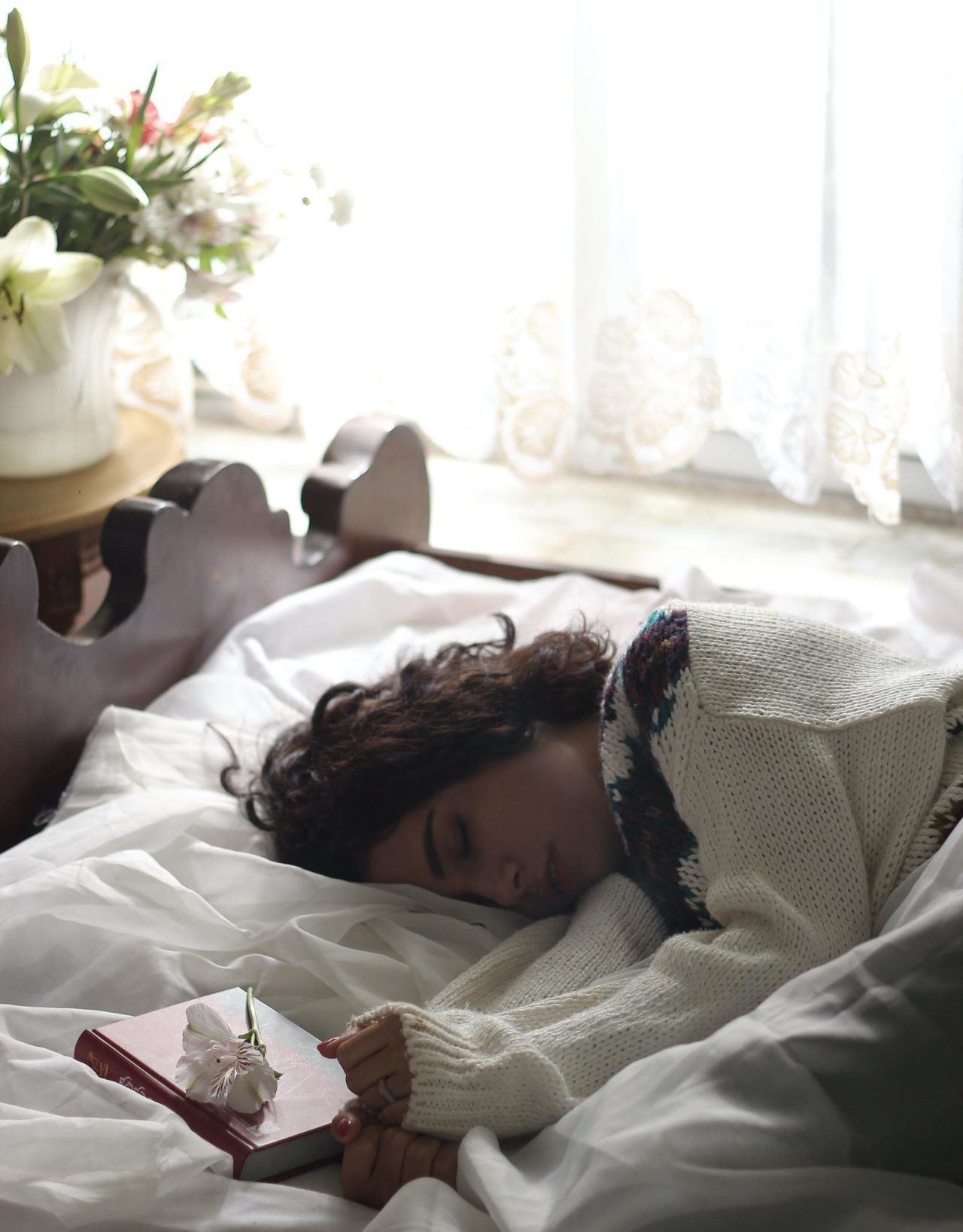 Getting sunlight in the morning will help you rest better at night so you won't sleep too much during th eday.