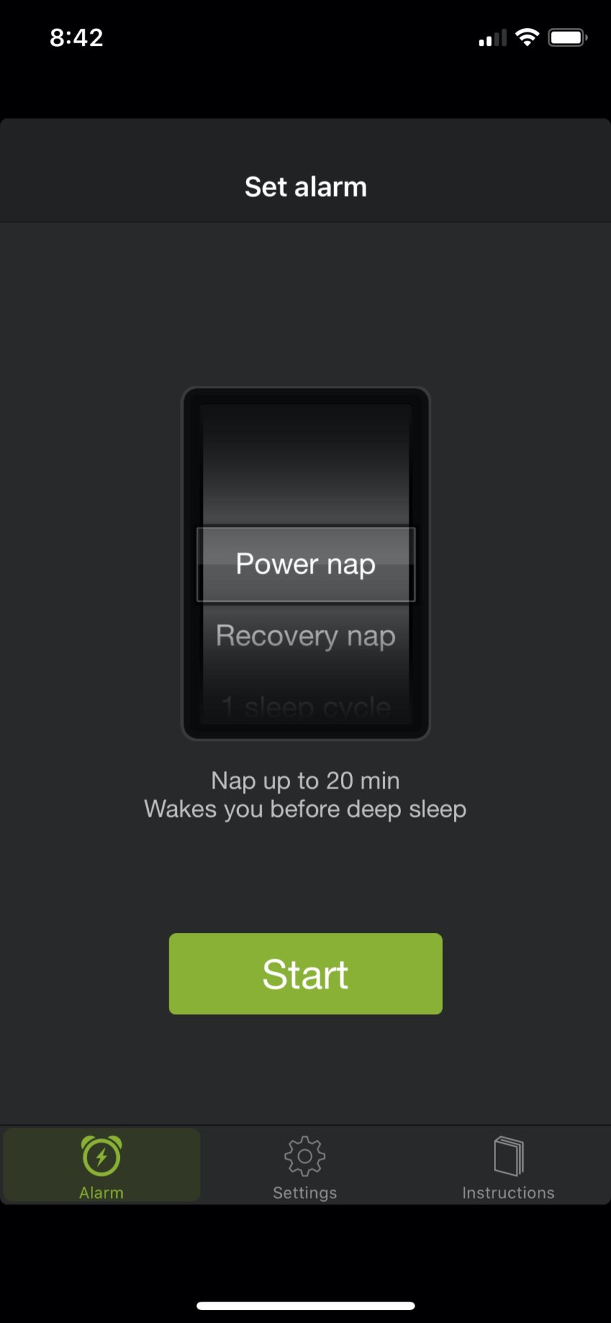 Power nap will keep you from feeling drowsy!
