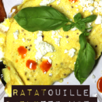 Ratatouille Omelette with Goat Cheese and Microgreens 5