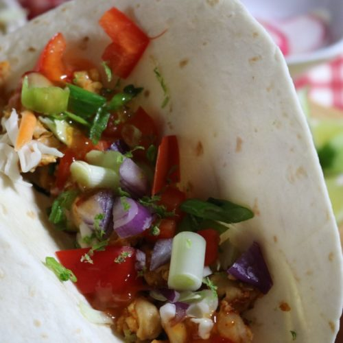 Chickpea Tacos with Sweet Chili Sauce and Lime Zest  5