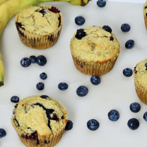 Sweeteners for Baking (and a recipe for Sugarproof Blueberry Banana Muffins) 3